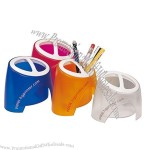 Double Compartment Pen / Pencil Holder