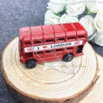 Double decker bus Fridge Magnets - British London souvenirs