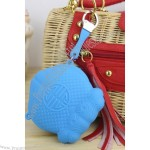 Double Fish Silicone Coin Wallet