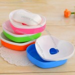 Double Layer Love Soap Tray