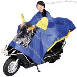 Double Motorcycle Poncho