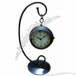 Double Side Table Hanging Clock