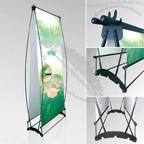 double sided h banner stand made in china 295131718