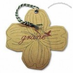 Double-sided Offset-printed Paper Hang Tag with Grommet and Twisted String Assembly