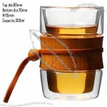 Double Wall Cup With Bamboo Holder