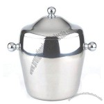 Double Wall Stainless Steel Ice Bucket