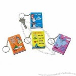 Dr. Seuss Mini Notebook Key Chain