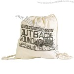 Drawstring Library Calico Bags