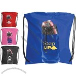 Drawstring Water Bottle Backpack