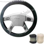 Driver's steering wheel cover, padded universal design for comfort