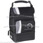 Dual Compartment Lunch Cooler