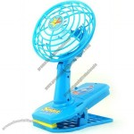 Dual Power Mini Shake Head Fan With Clip
