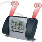Dual Projection Clock with LCD Calendar