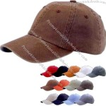 Dyed cotton twill cap.