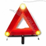 E-mark Approved Warning Triangle with 3 Pieces LEDs