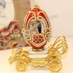 Easter Egg Carriage Styling 18 Tone Music Box