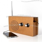 Eco-Friendly Cardboard Radio