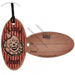 Eco-Friendly Harvested Wood Hang Tag