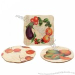 Eco-Friendly Tableware for Bamboo Square Mat/Placemat/Coaster