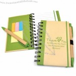 Eco Journal, Sticky Note & Pen Set