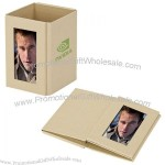 Eco Pencil Cup W/ Photo Frame