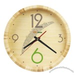 Ecologically Friend Bamboo Clock