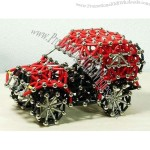 Educational Toy Magnetic Sticks - Car Shaped