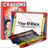 Eight pack of crayons.