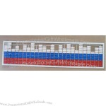 EL Light Equalizer Car Sticker 3 Color Mix