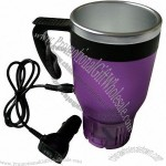 Electric 500ML Car Heating Travel Cup