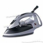 Electric Enameled Plate Steam Iron with Big Size