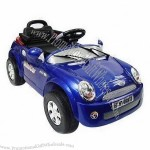 Electric Ride-on Car for Kids with Remote Controller, Comes in Mini Cooper Style