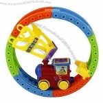 Electric Toy Train Set with Light and Music