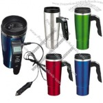 Electric Travel Mug With LCD Display Handle