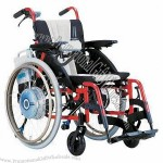 Electric Wheelchair with Aircraft Titanium Frame and Yamaha Motor