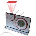 Electronic Alarm Clock Time Projector