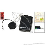 Electronic Anti-lost Personal Reminder Alarm Safeguard Black
