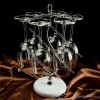 Elegant Fashion Metal Wine Glass Rack Hanging