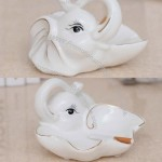 Elephant Ceramic Ashtray