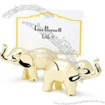Elephant Place Card Holders - Gold-plated