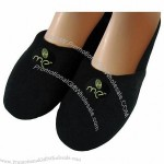 "Embroidered Comfy Slippers 1 1/2"" x 1 1/2"" Applique"