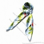 Emulational Silk Printed Scarf