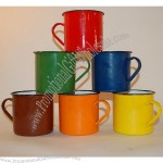 Enamel Mugs Camping Kitchen Use