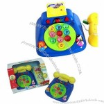English/Spanish Telephone Learning Machine with Light and Music