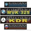 Equalizer Glow EL Light Sound Music Activated Car Stickers