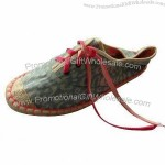 Espadrille Flat Canvas Shoes with Jute Sole