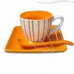 Espresso Cup and Saucer with Spoon