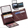 Euro Commuter Wallet - Genuine Leather Billfold