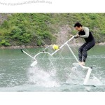Exciting water bike, aqua skipper, aqua bike, water tricycle