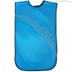Extra Large Mens Waterproof Adult Bib with Catch All Pocket with Carrying Case